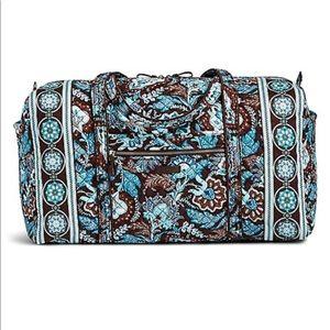Vera Bradley - set of Java Blue duffel bags
